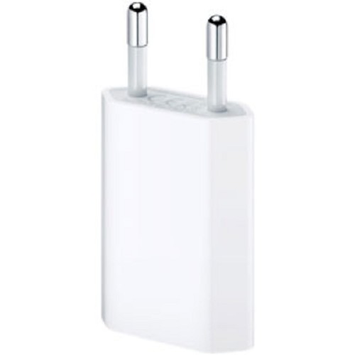 APPLE iPhone 5W USB Power Adapter [MD813ZM/A] - Charger Handphone